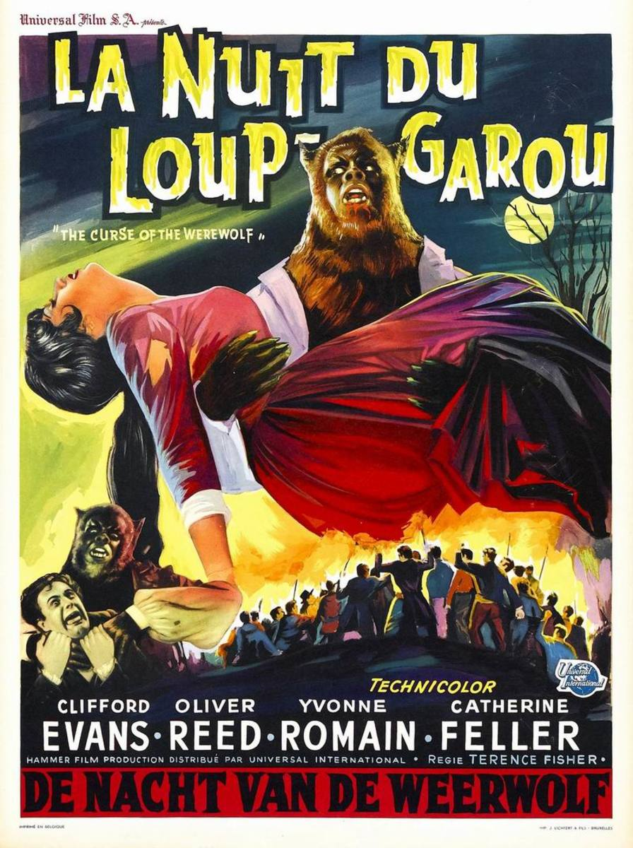 Curse of the Werewolf (1961) French poster
