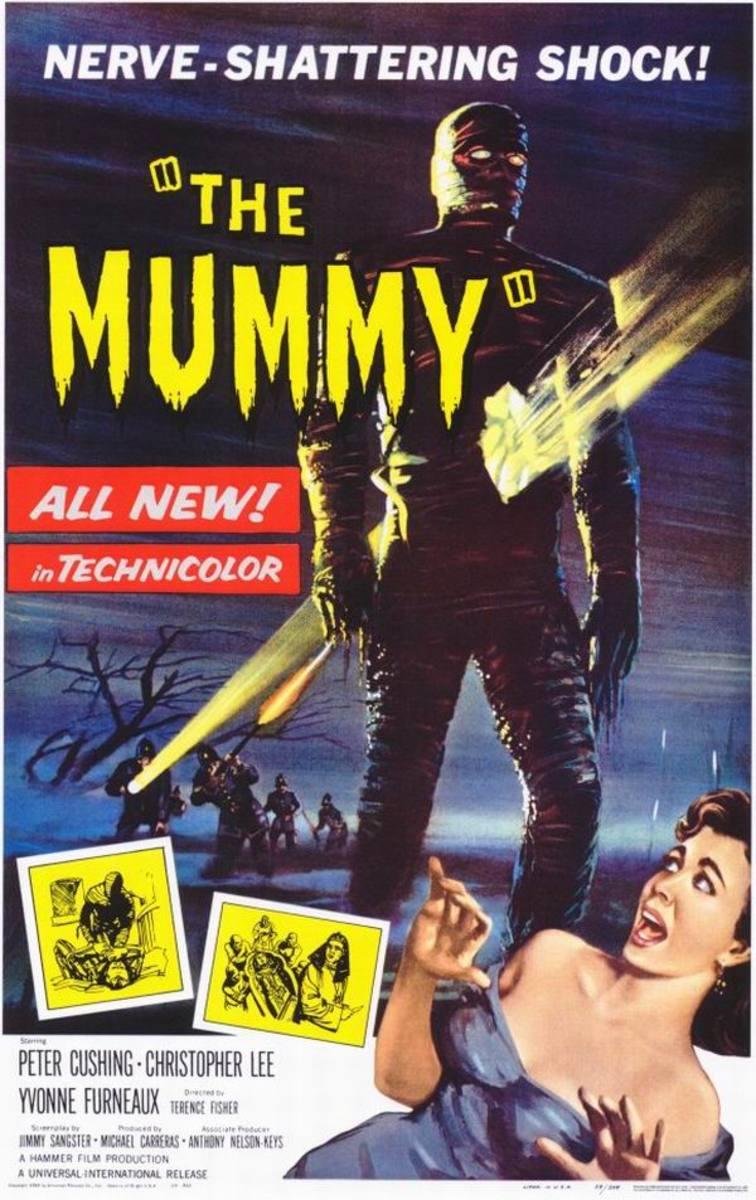 The Mummy (1959) art by Bill Wiggins