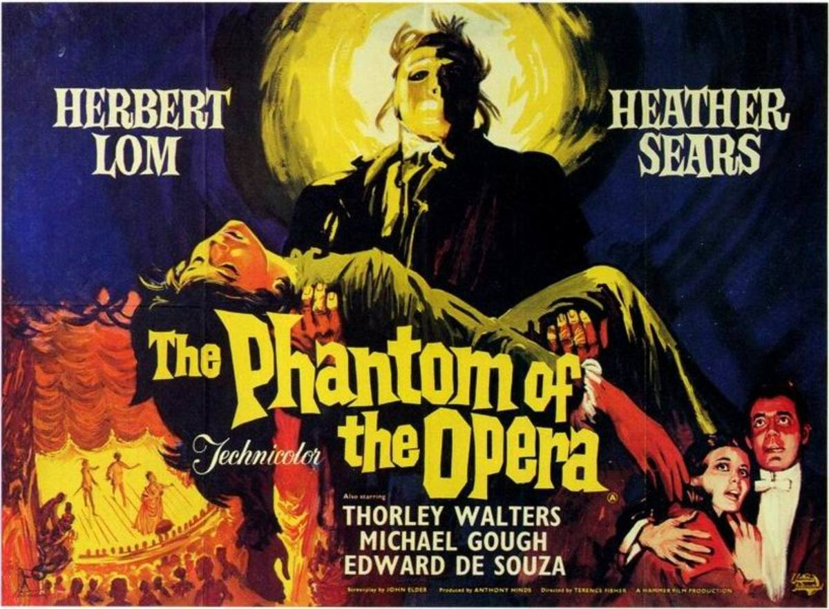 The Phantom of the Opera (1962) art by Renato Fratini