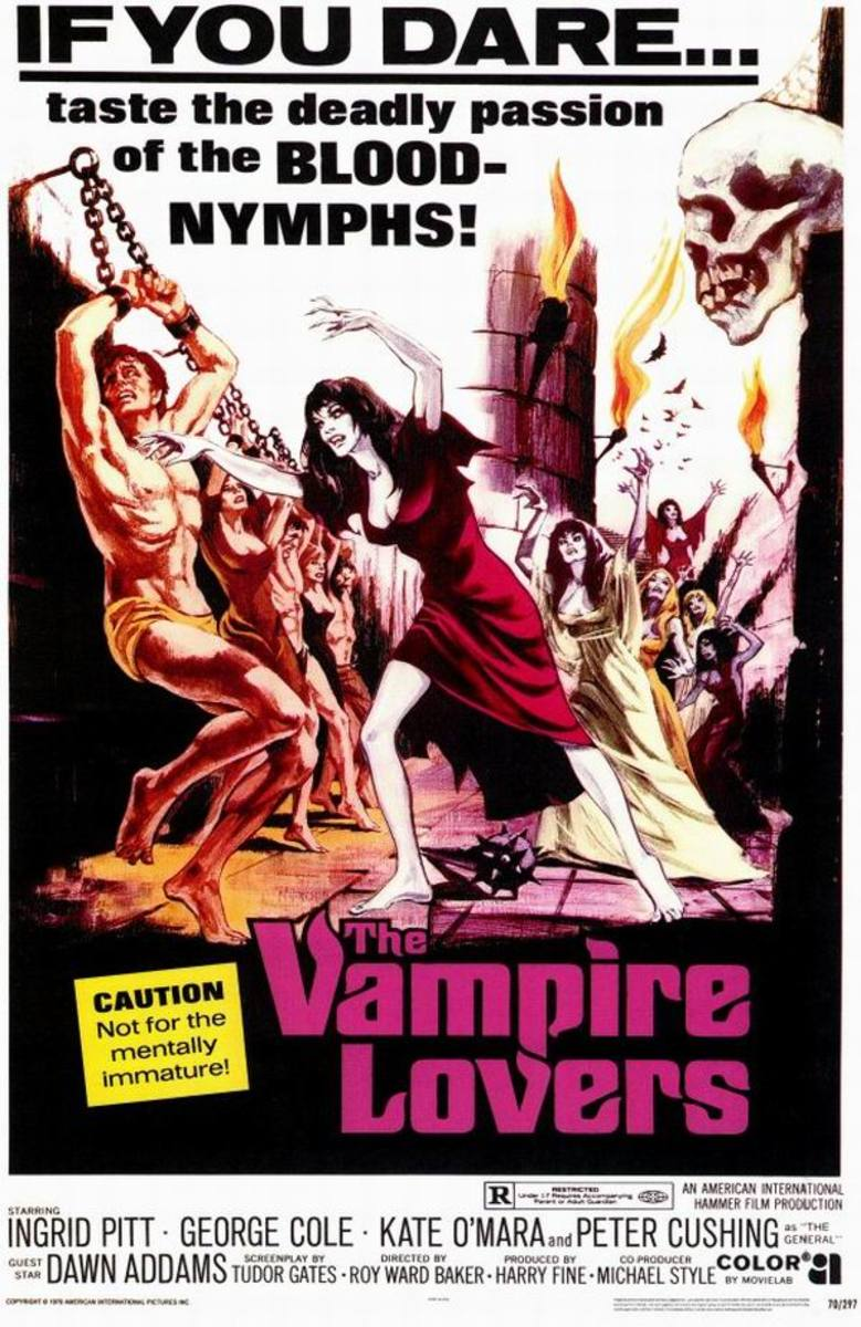 The Vampire Lovers (1970) US poster