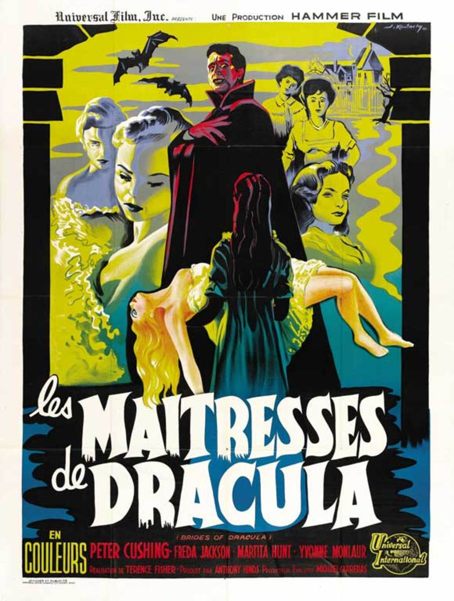 Brides of Dracula (1960) French poster