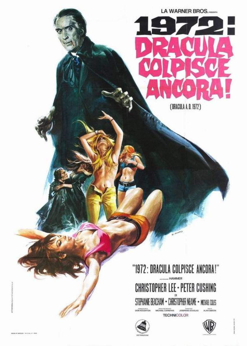 Dracula AD72 (1972) Italian poster