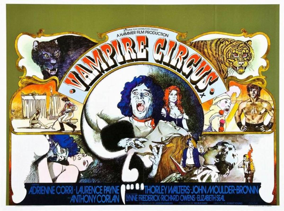 Vampire Circus (1972) UK poster