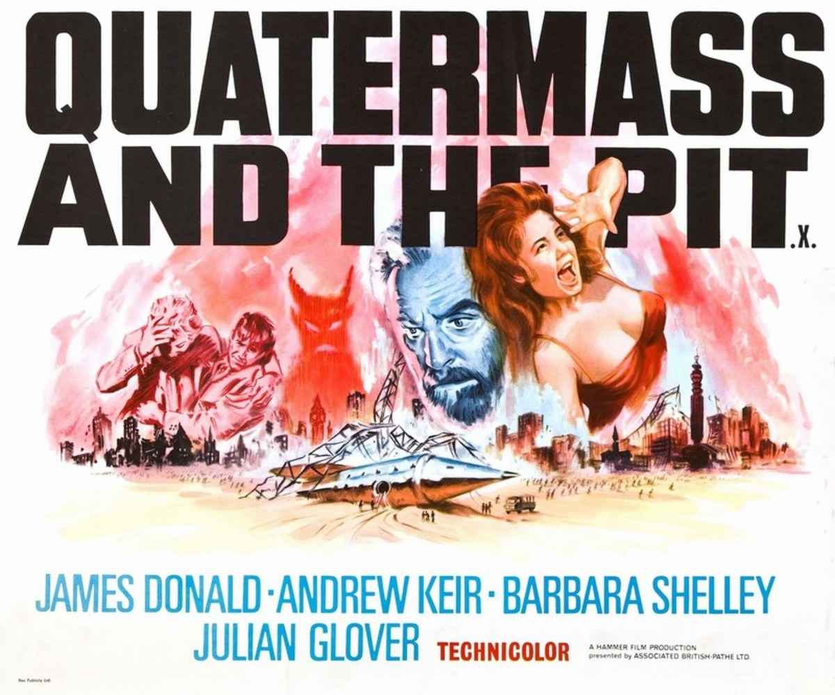 Quatermass and the Pit (1967) UK poster