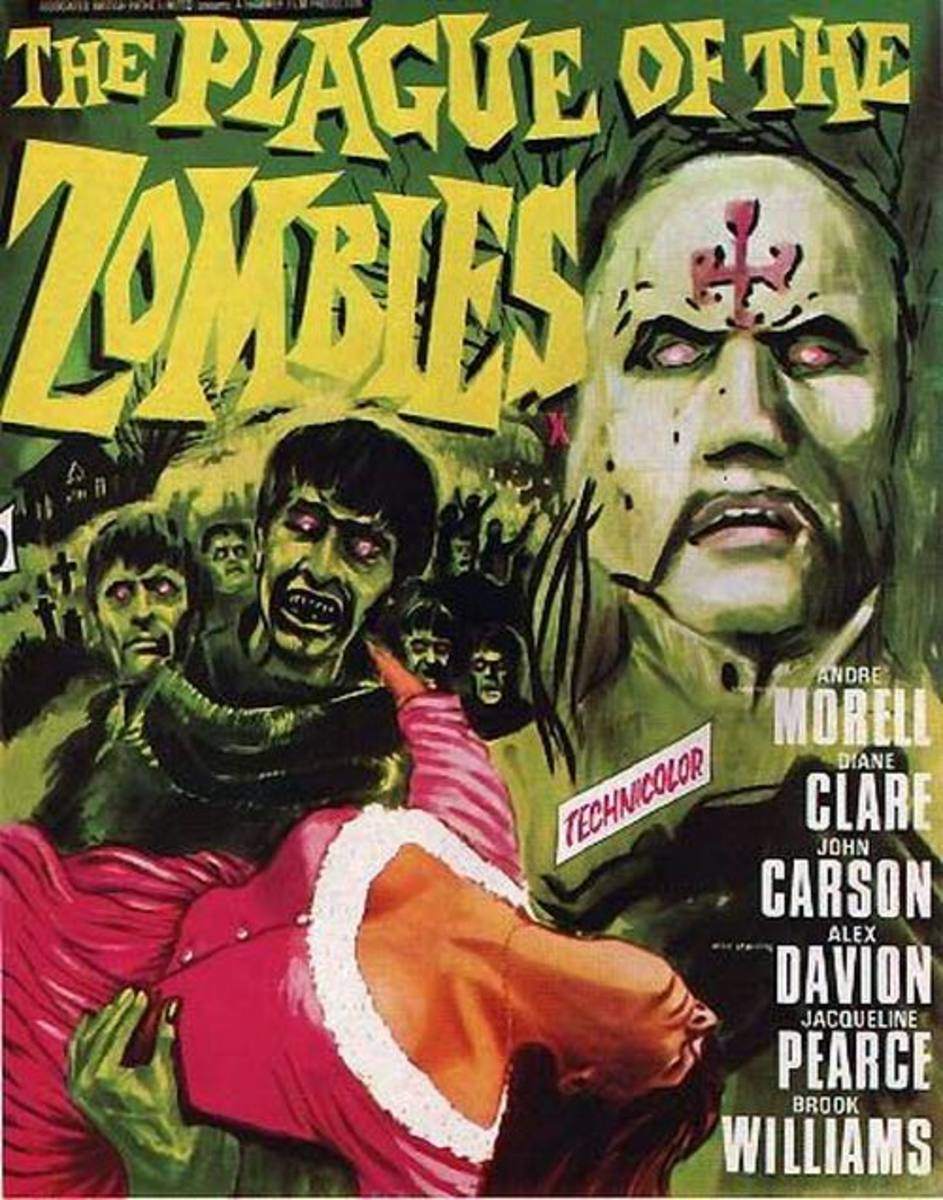 Plague of the Zombies (1966) art by Tom Chantrell
