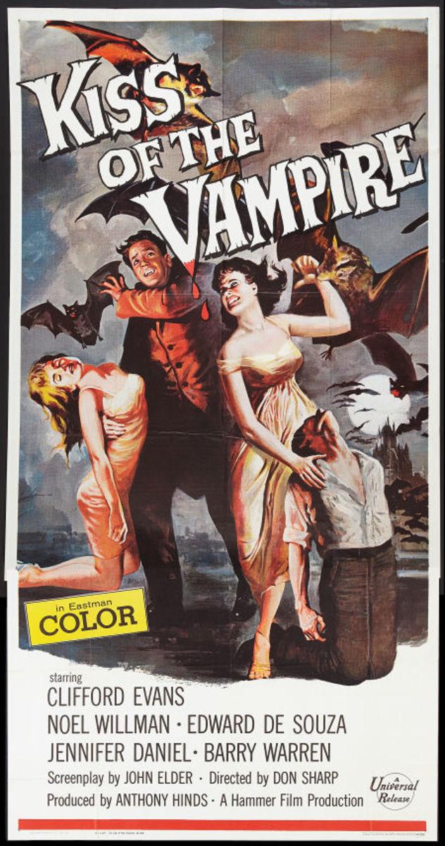 Kiss of the Vampire (1963) art by Joe Smith