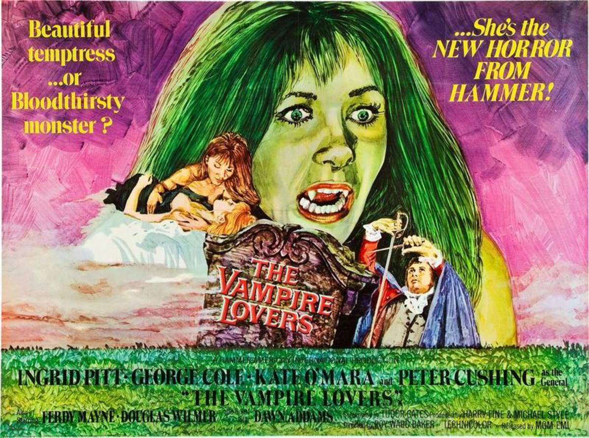 The Vampire Lovers (1970) UK poster