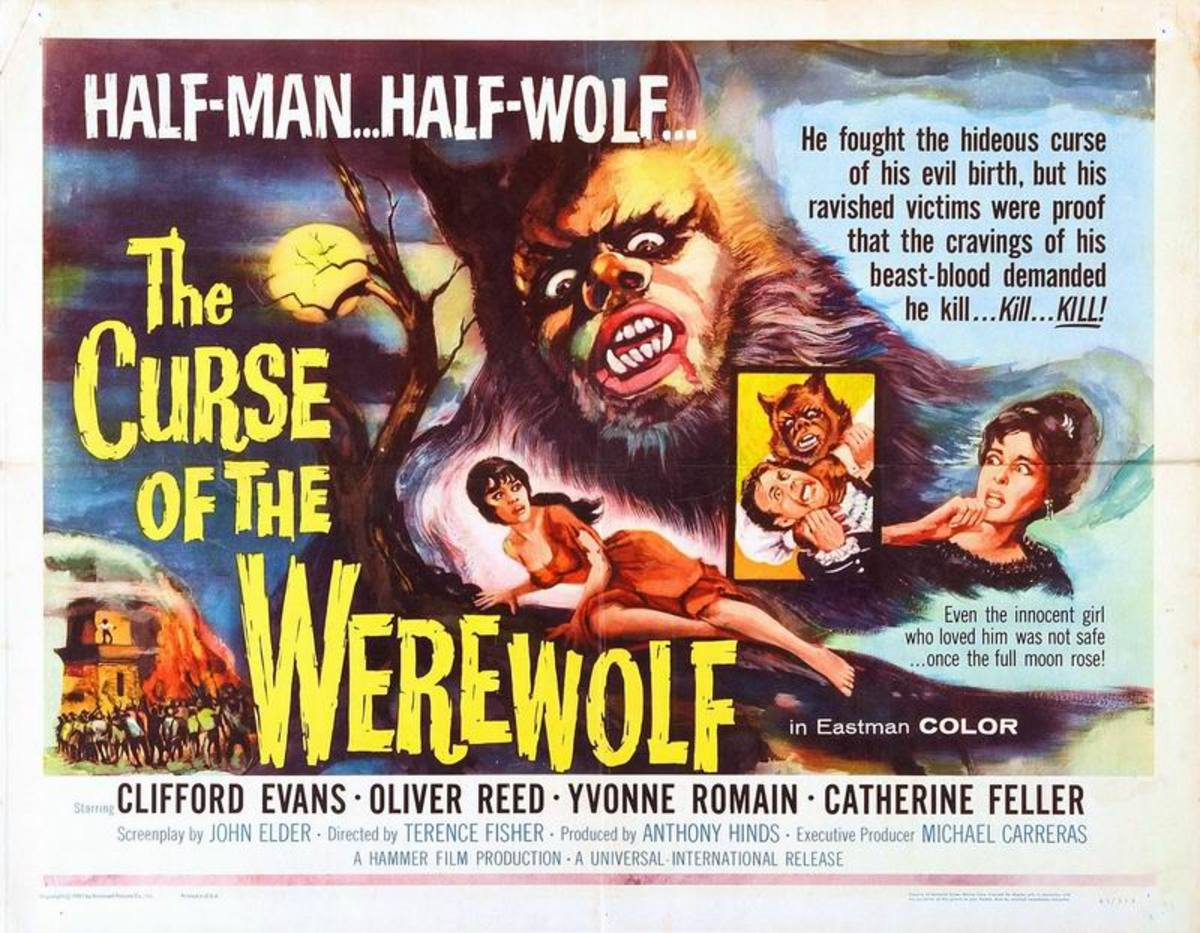 Curse of the Werewolf (1961) US poster