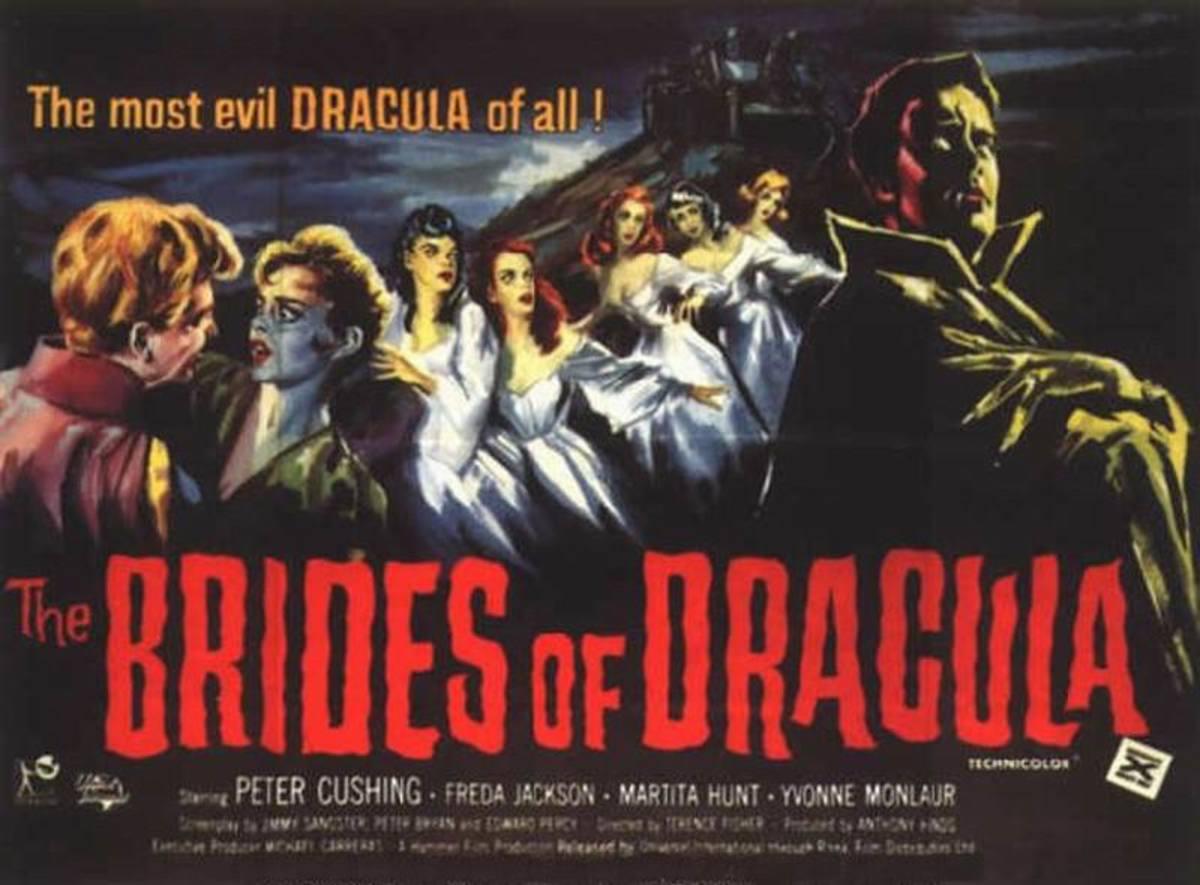 Brides of Dracula (1960) UK poster
