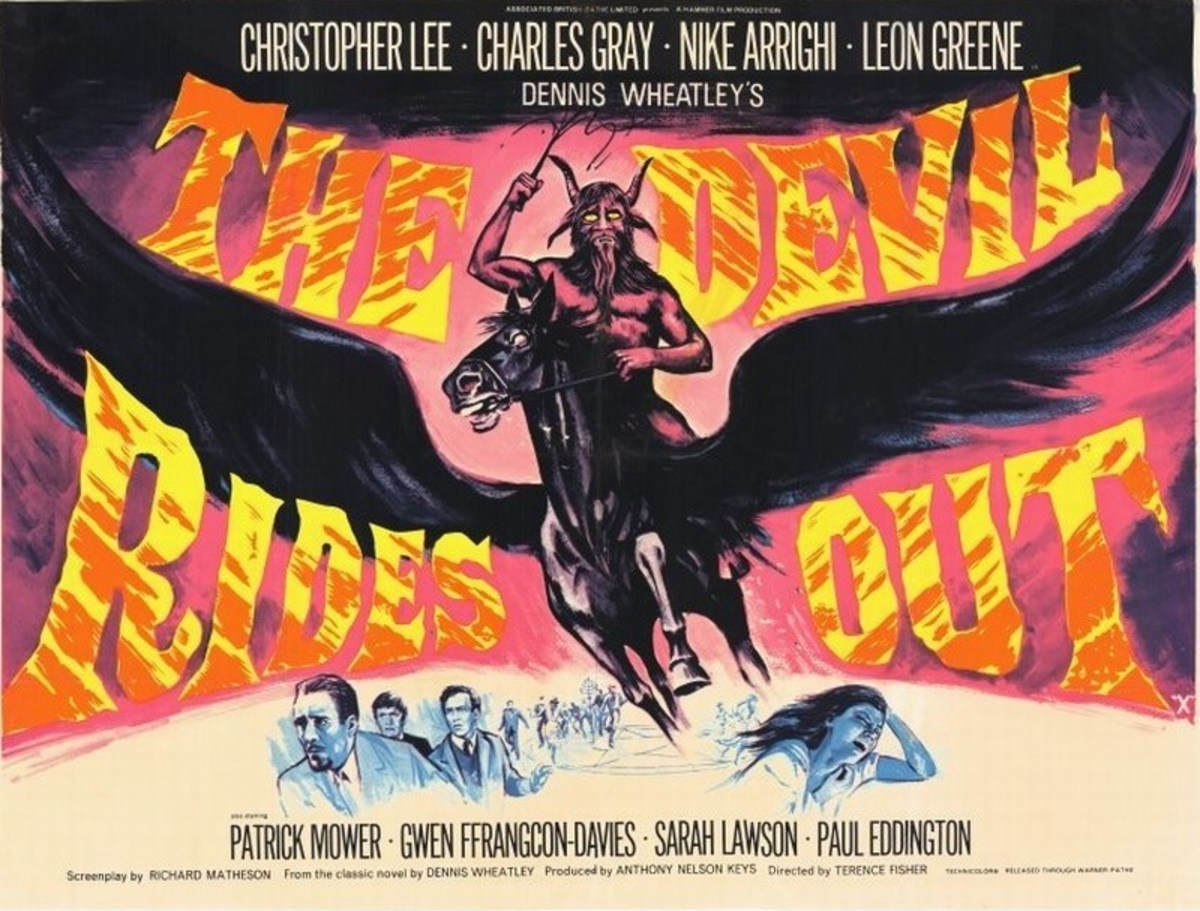 The Devil Rides Out (1968) UK poster