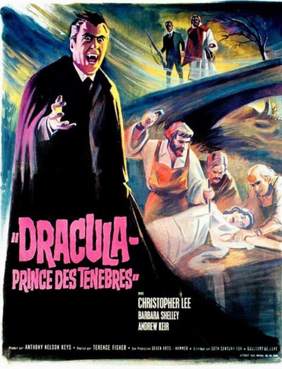 Dracula - Prince of Darkness (1966) French poster
