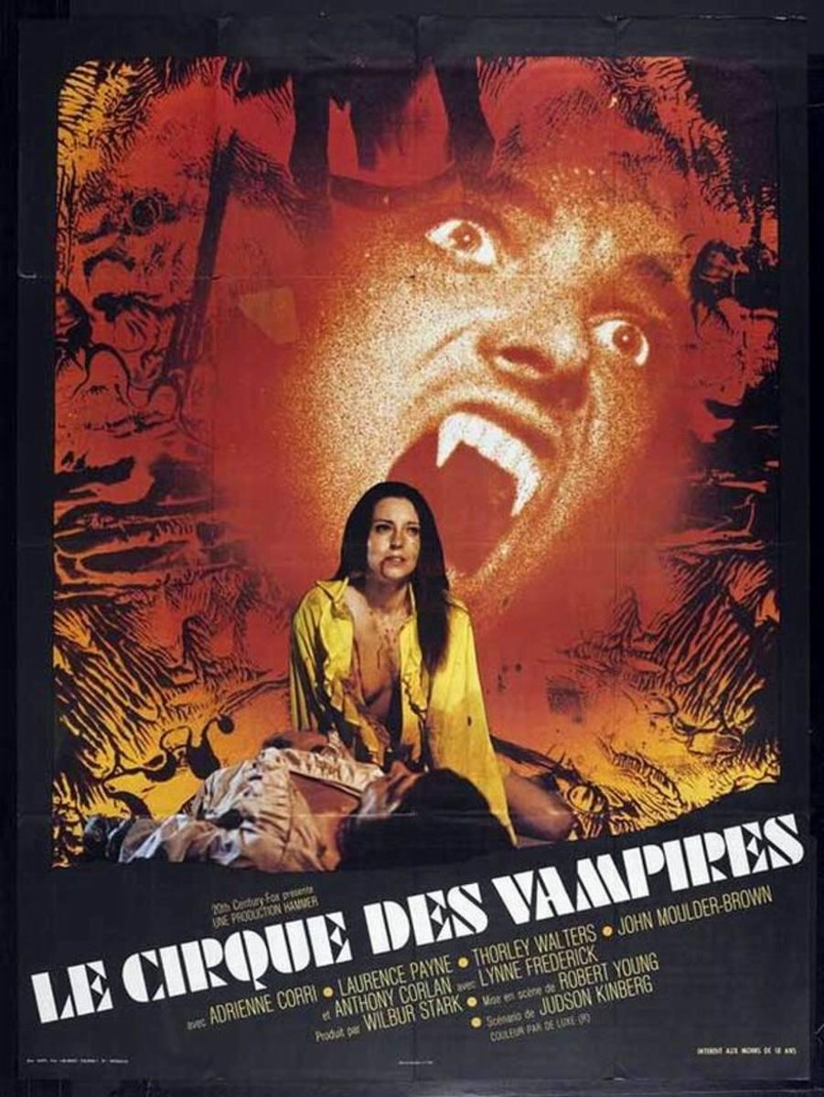 Vampire Circus (1972) French poster