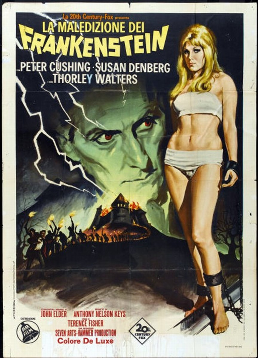 Frankenstein Created Woman (1967) Italian poster