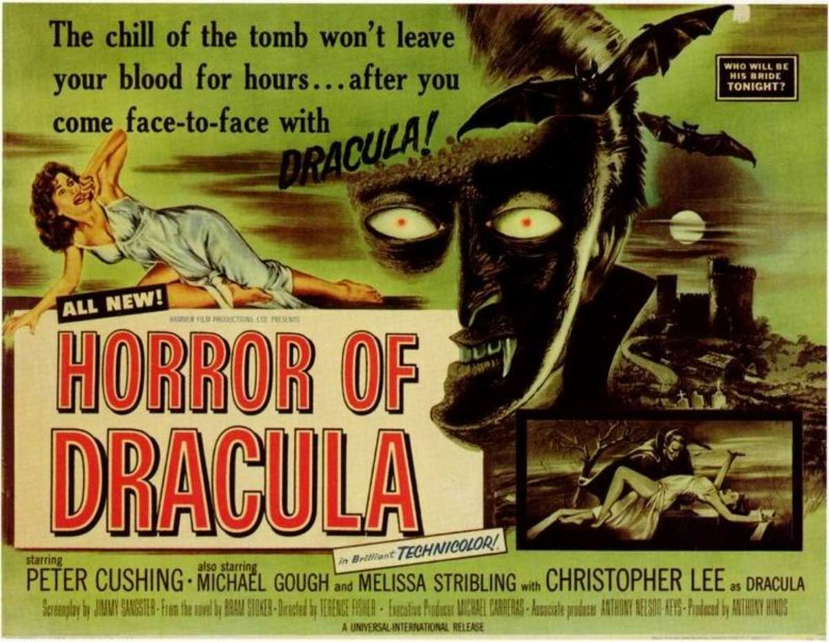 Dracula (1958) US poster