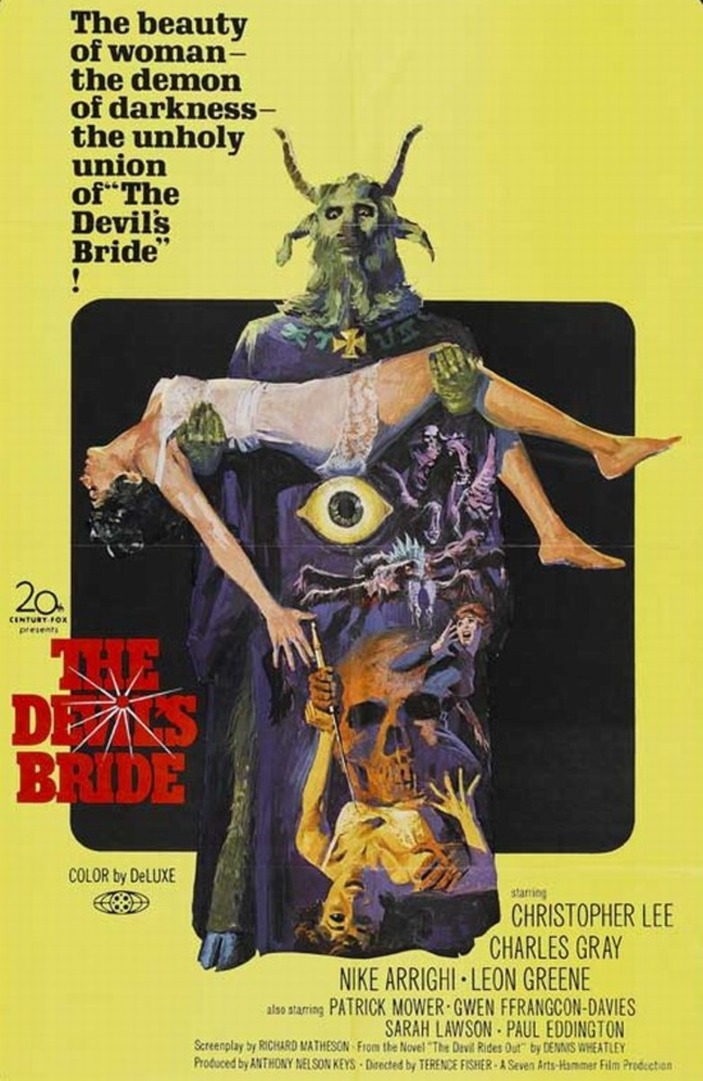 The Devil Rides Out (1968) US poster
