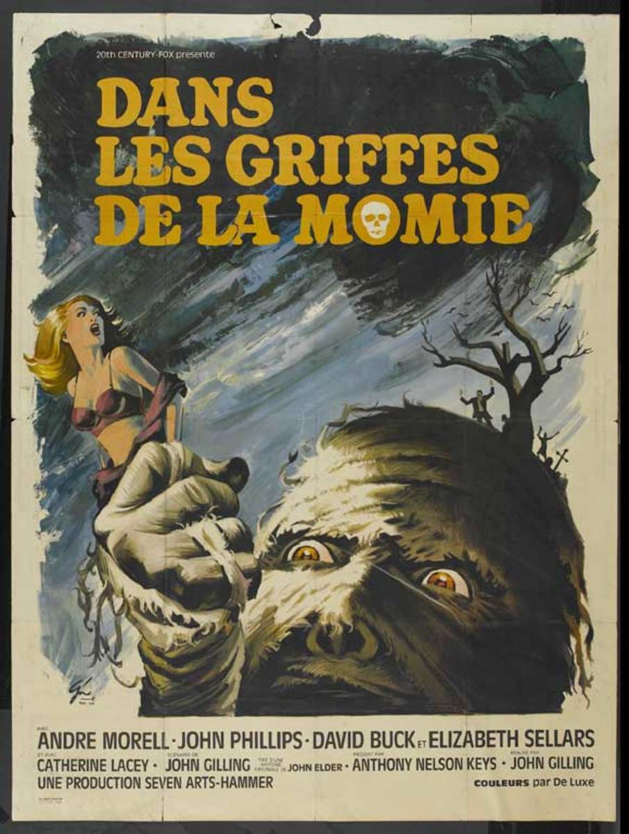 The Mummy's Shroud (1967) French poster