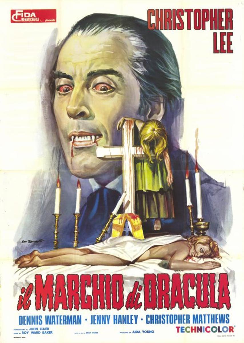 Scars of Dracula (1970) Italian poster