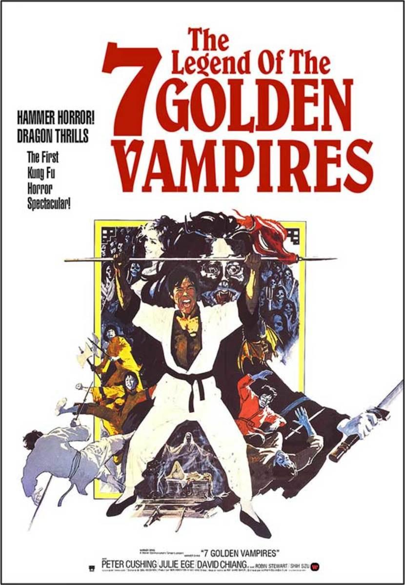 Legend of the 7 Golden Vampires (1974) art by Arnaldo Putzu
