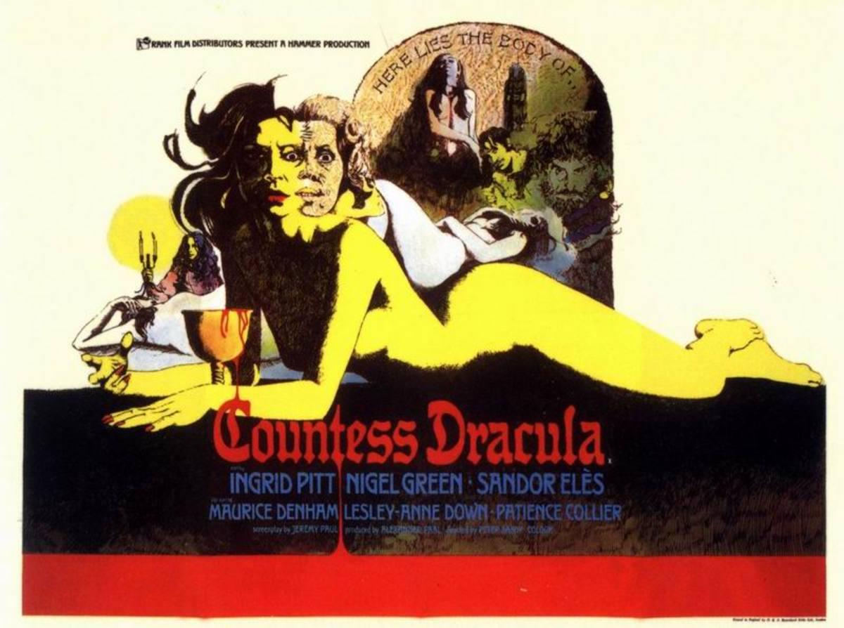 Countess Dracula (1971) art by Vic Fair