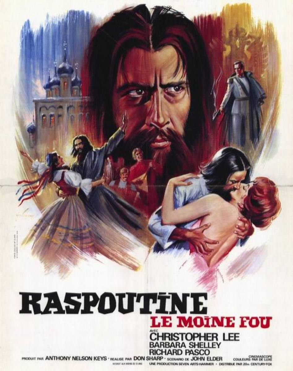 Rasputin the Mad Monk (1966) French poster