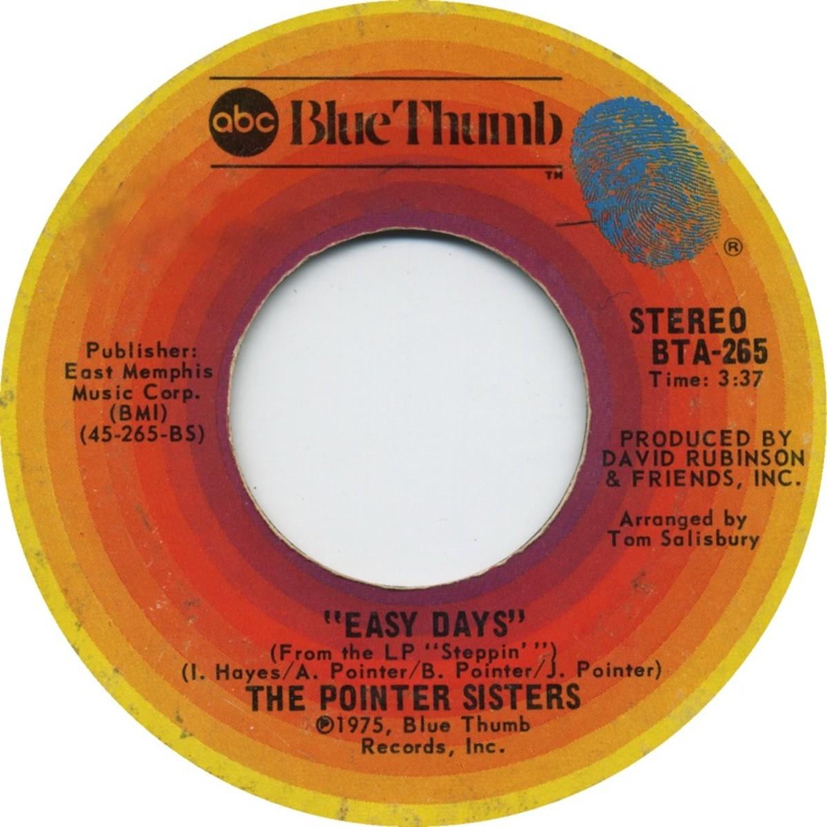 Sampled Track 7 back in 1975