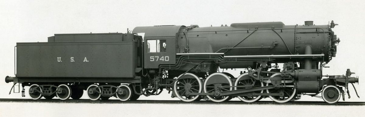 USATC Class 160 Works photo