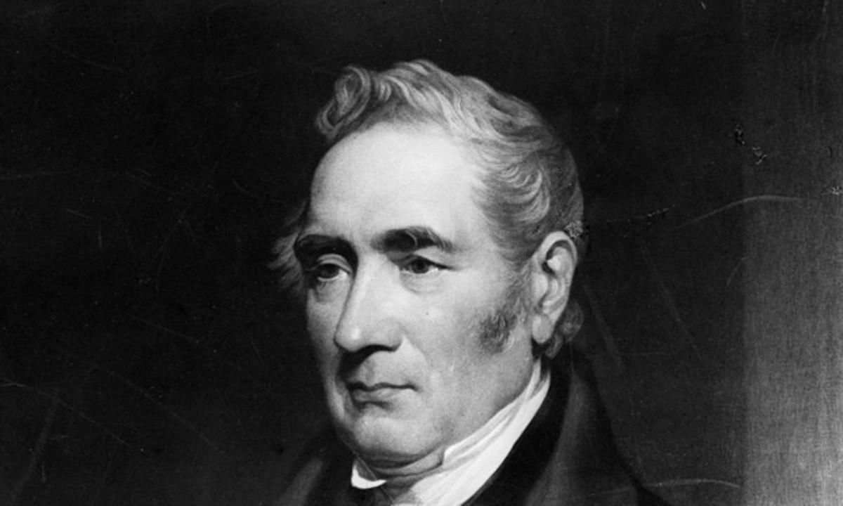 George Stephenson came from much humbler beginnings west of Newcastle-upon-Tyne