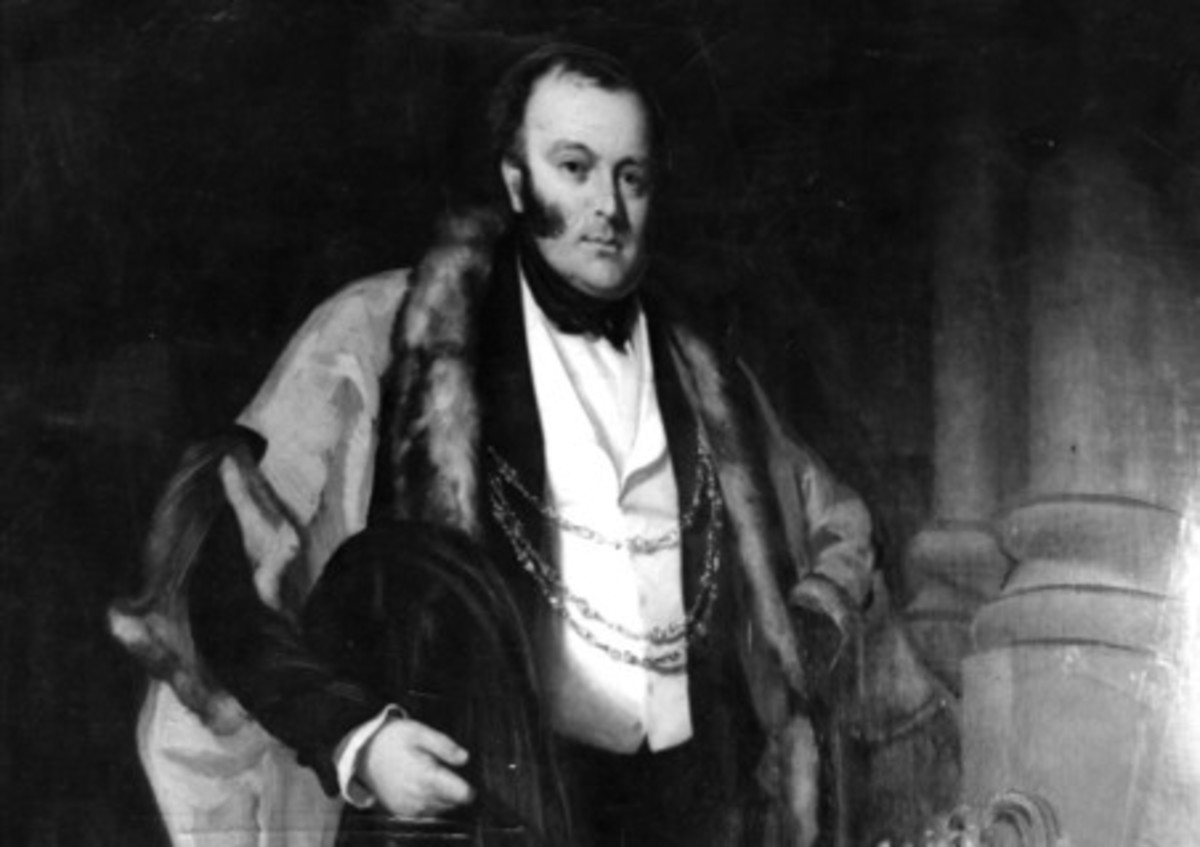 George in his heyday as Lord Mayor of York