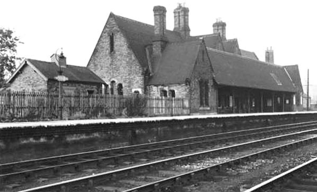 Etherley Station after line closure in the 60's