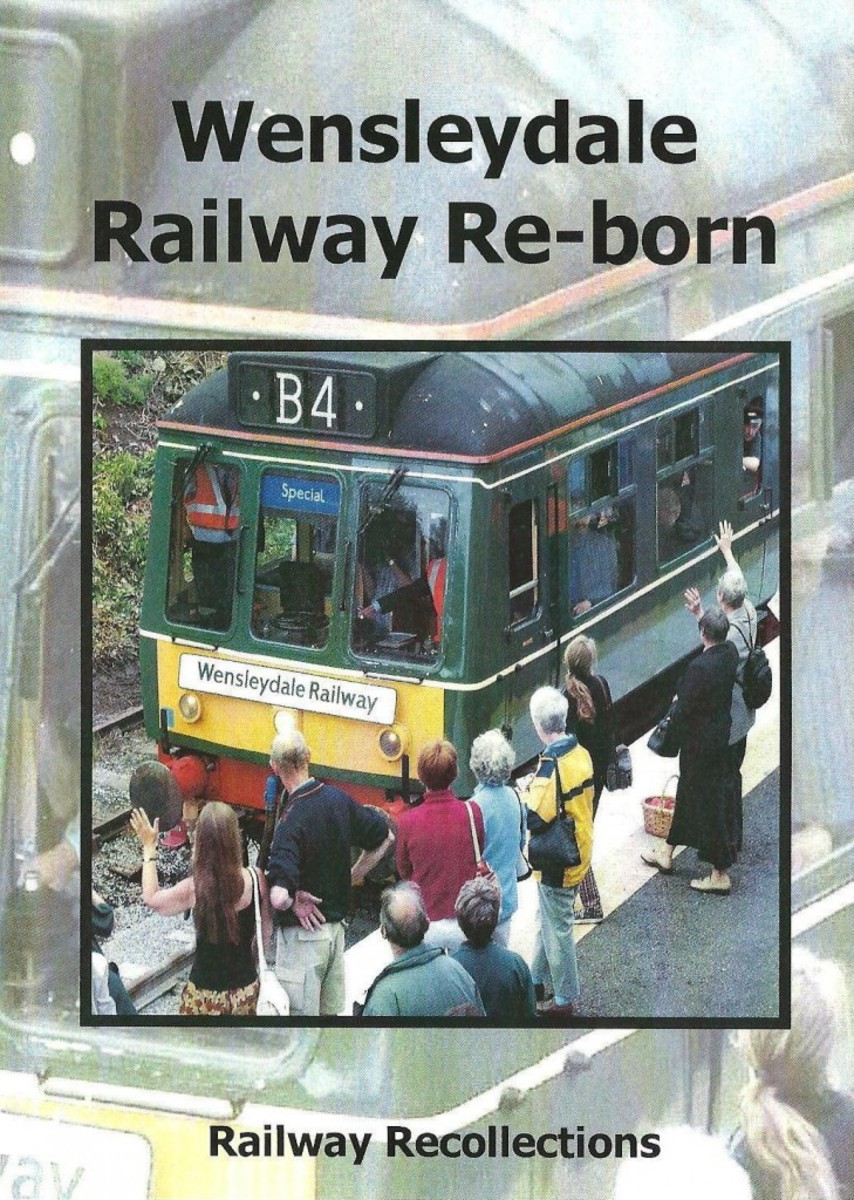 Wensleydale Railway Reborn, a dvd that tells of the re-emergence of this great scenic railway from an idea to what it is today - and may be tomorrow. Contact Wensleydale Railway Assoc. (Trust) Ltd.