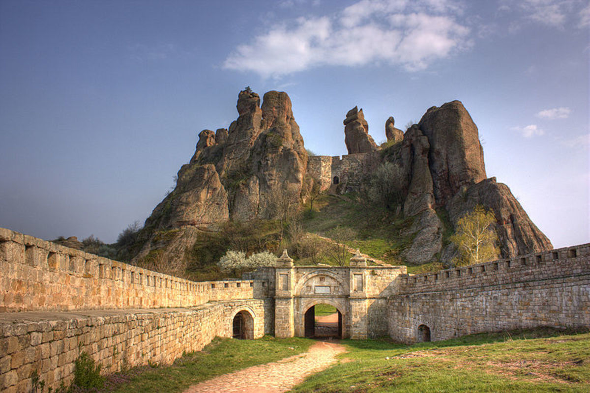 The Belogradchik Fortess' main gate
