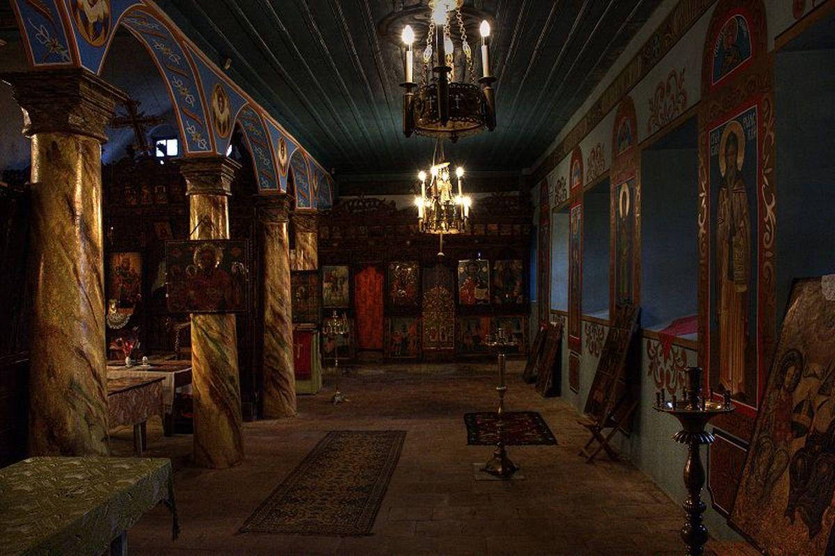Interior of Dorminion of the Theotokos Church