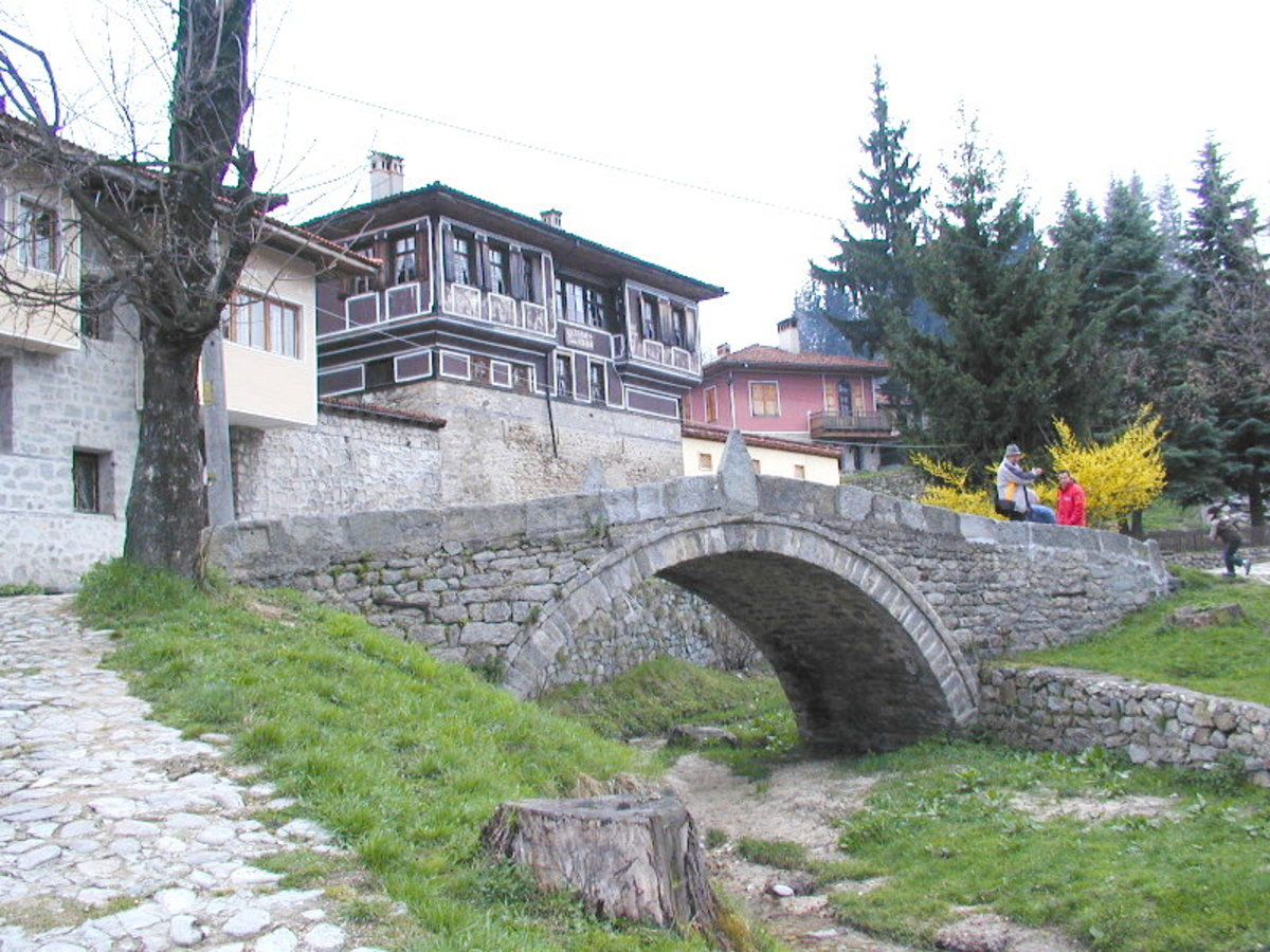 Characteristic architecture from Koprivshtitsa