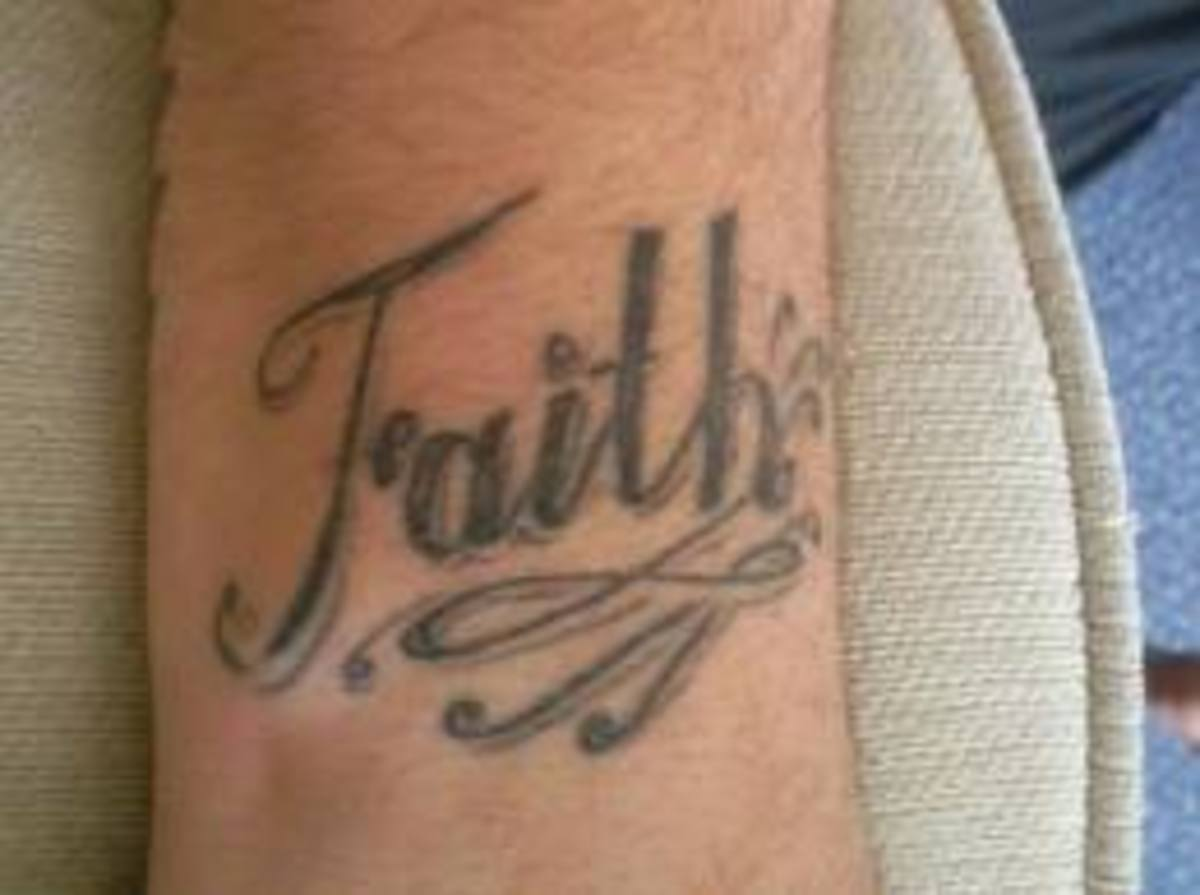 Faith Tattoo Designs and Meanings