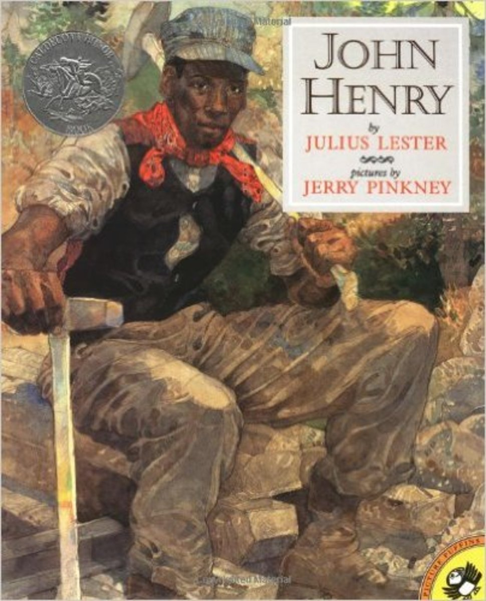 John Henry (Picture Puffins) by Julius Lester