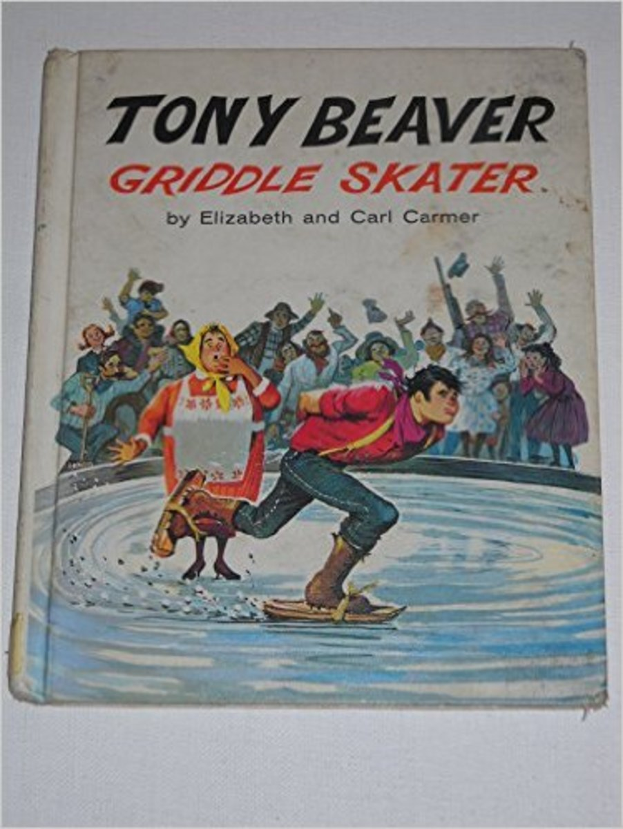 Tony Beaver Griddle Skater by Elizabeth and Carl Carmer