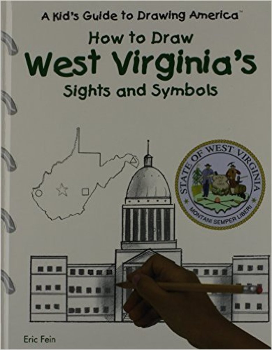 How to Draw West Virginia's Sights and Symbols (Kid's Guide to Drawing America) by Stephanie True Peters