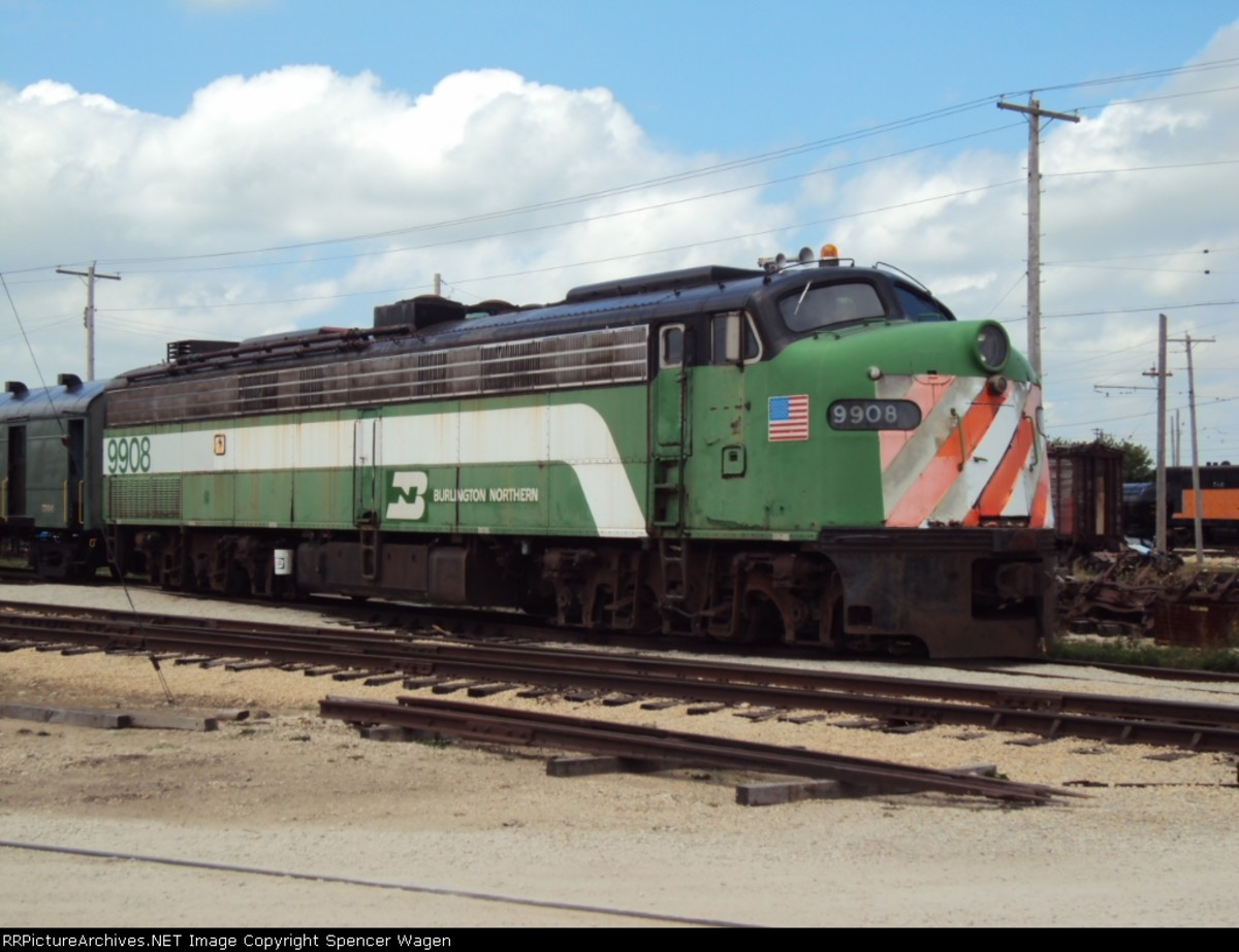 9908 reborn at the Illinois Railway Museum Union Illinois
