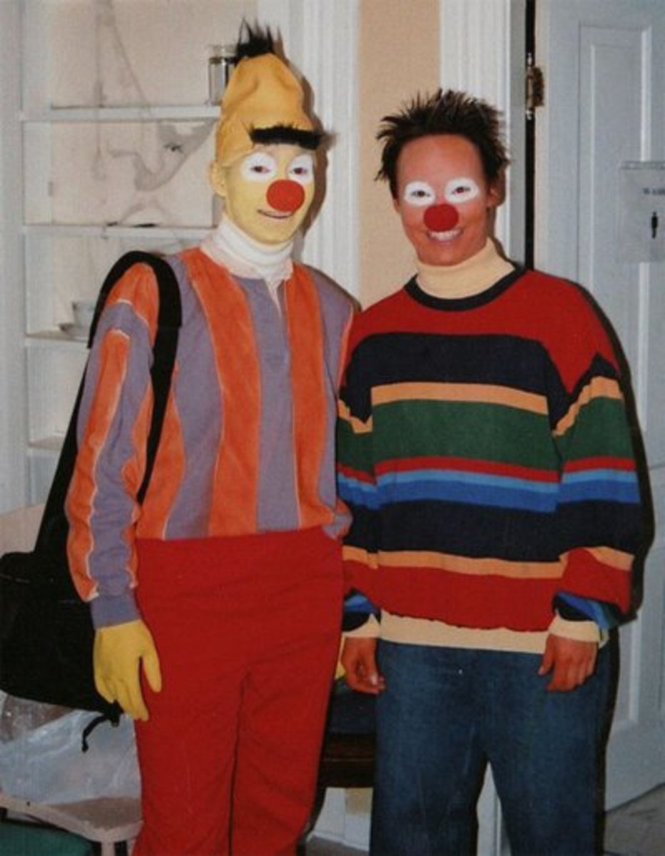 Ernie and Bert Costumes