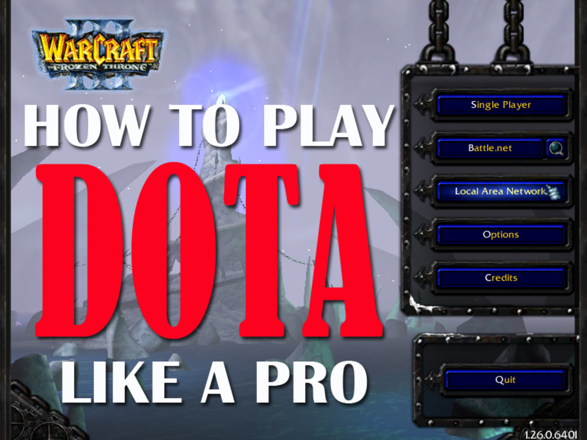 How to play DOTA like a Pro