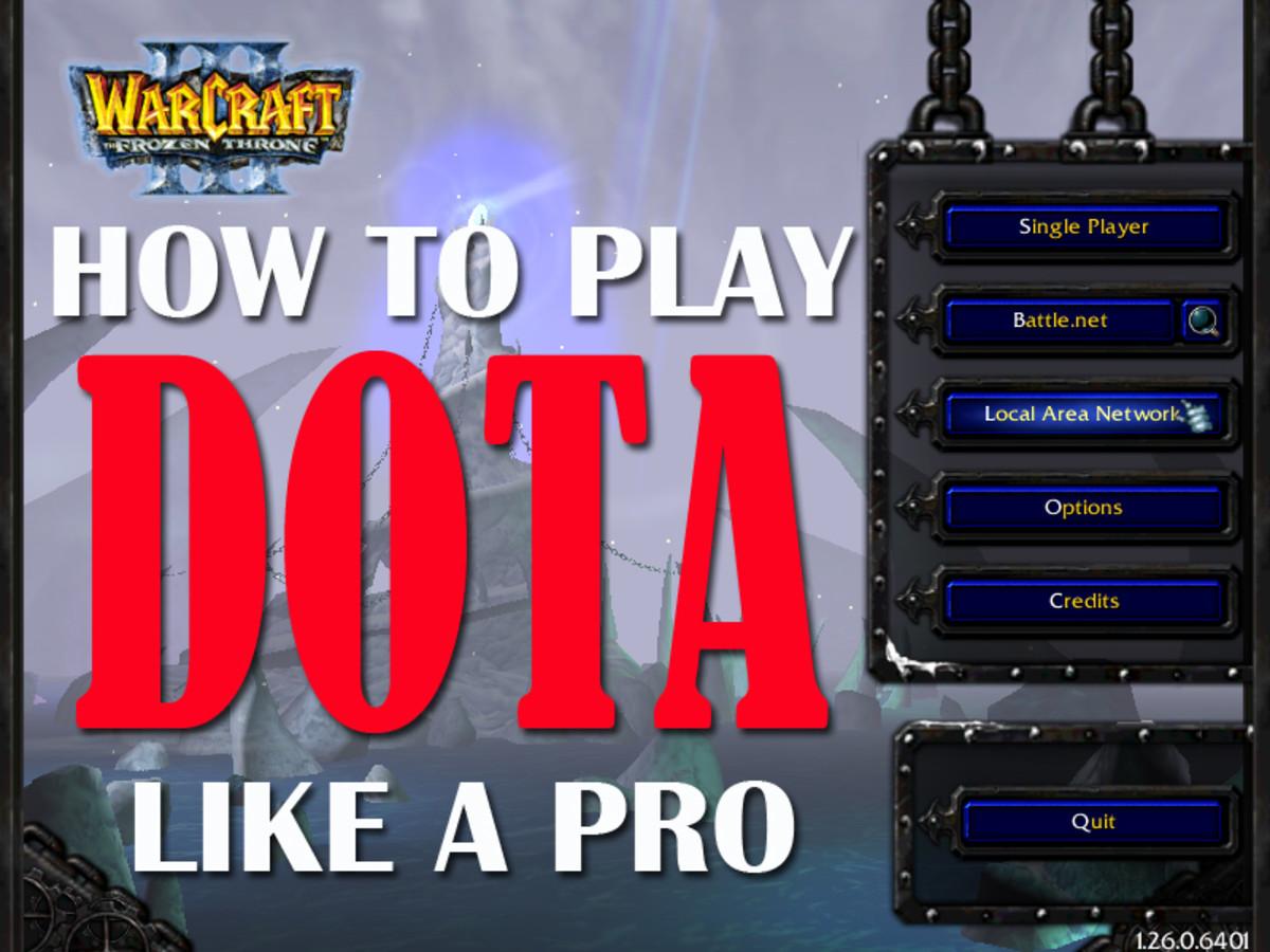 How to play DOTA like a Pro