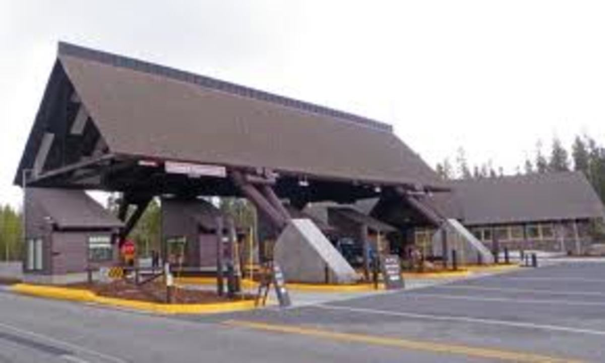 West Yellowstone Gate