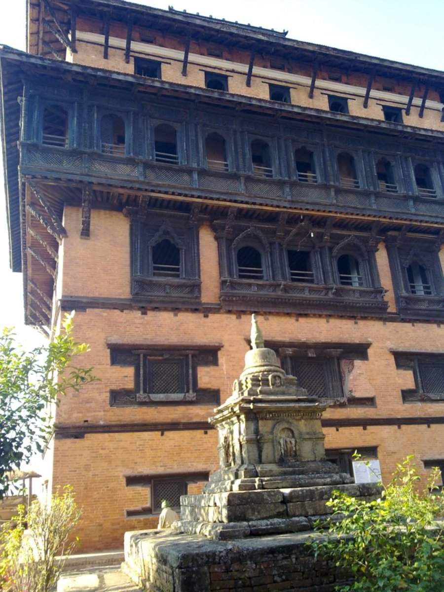 250 years old place of founder of modern Nepal