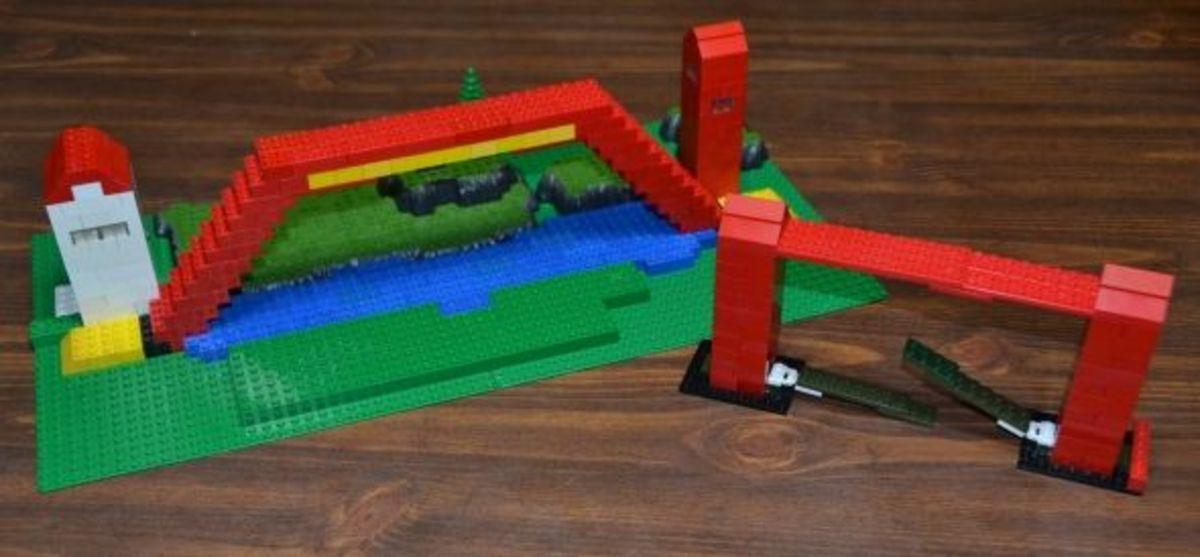 Lego bridges