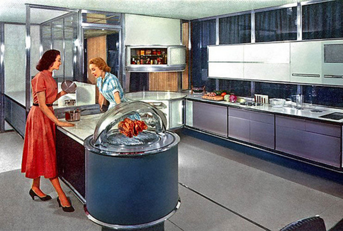Fun, Retro Ideas for a 50s Style Kitchen