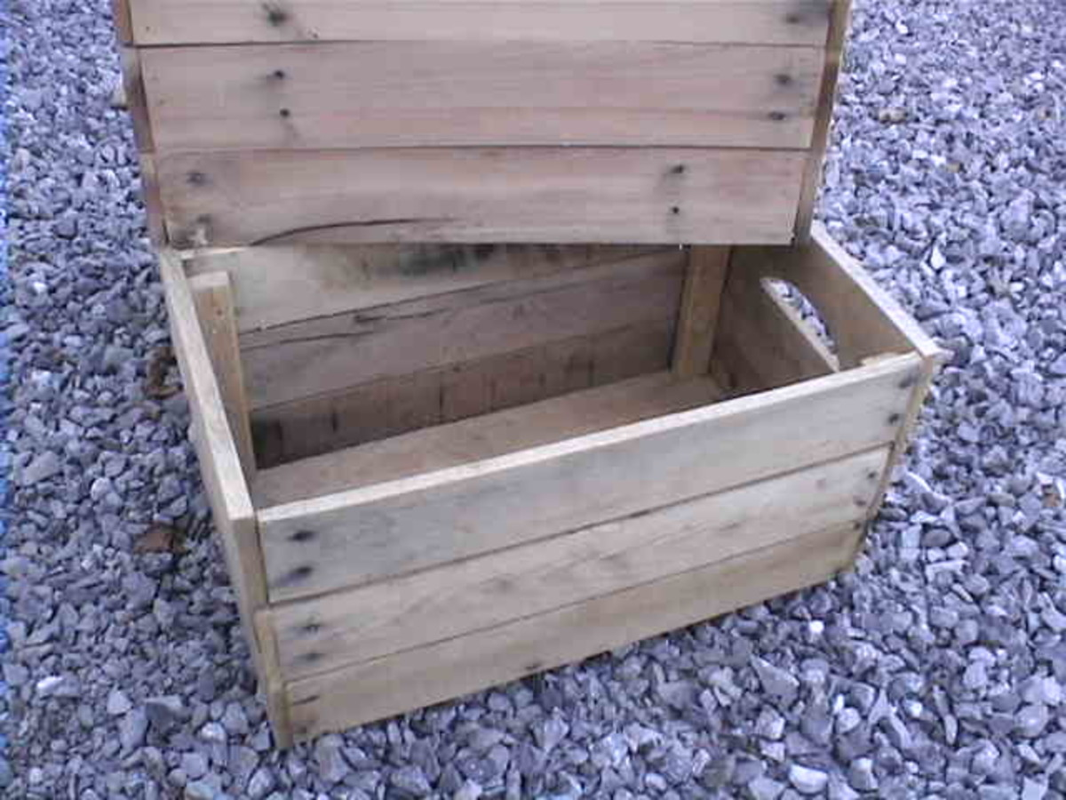 How to make apple crates from reclaimed pallet wood hubpages for How to make apple crates
