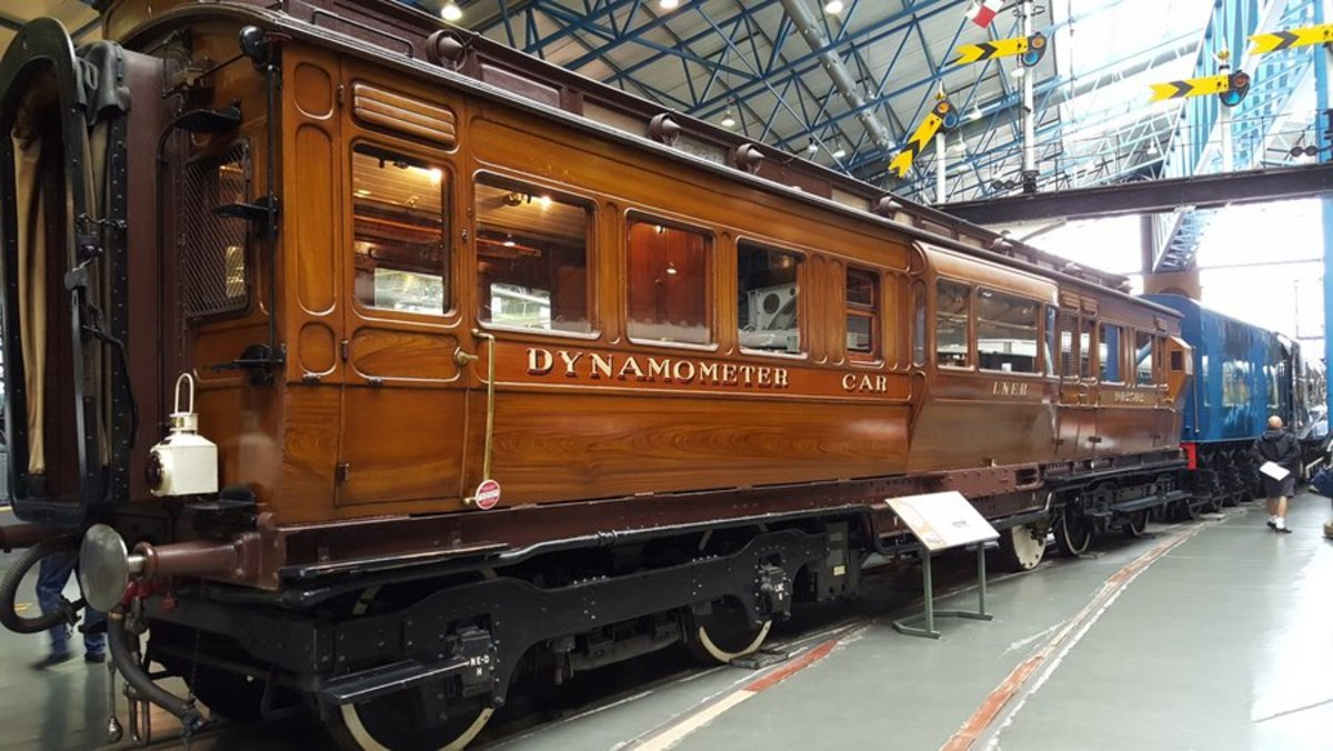 The former NER and LNER Dynamometer Car. Step up and see the front-line technology as it was then before WWII, the graphs, the charts and speed checks (no speedometers in loco cabs then)