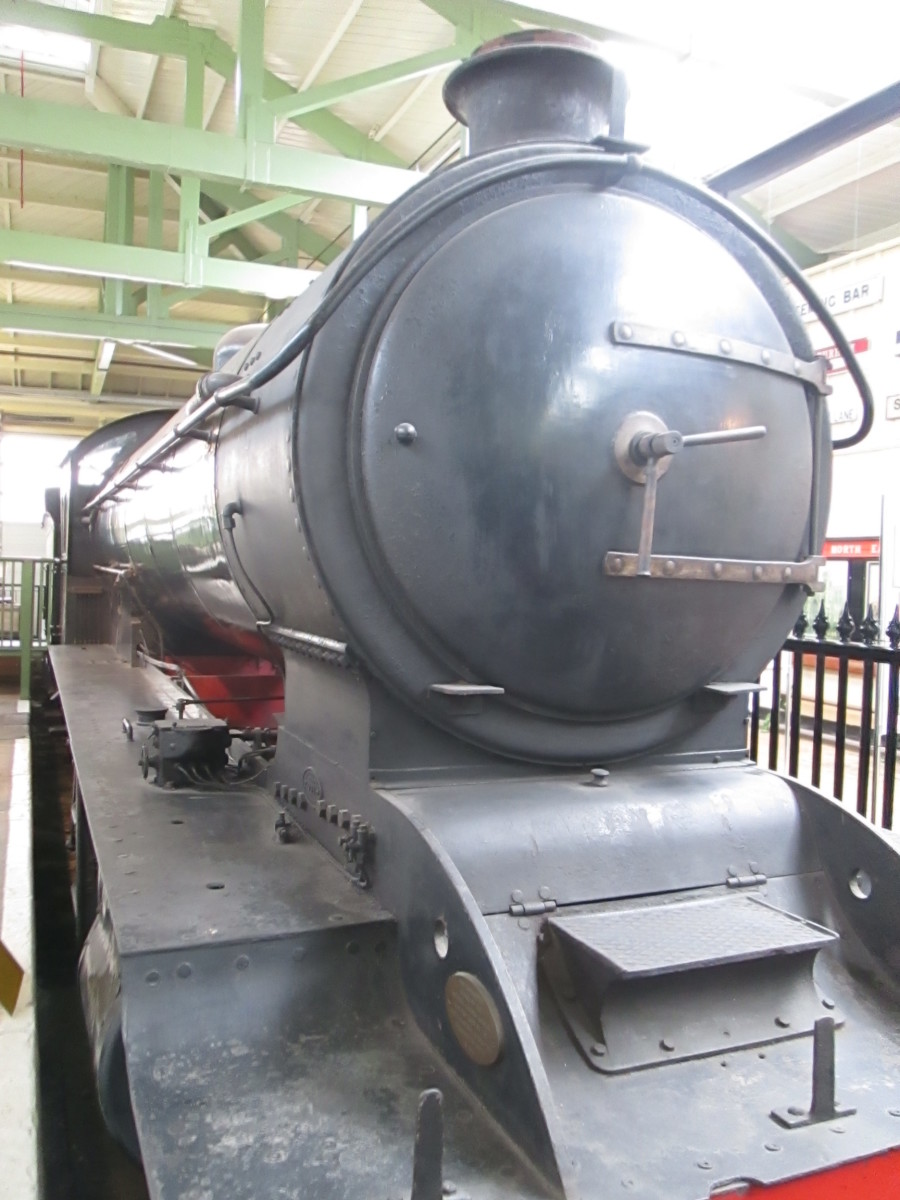 Owned by the NRM, recently in the care of NELPG, this is the last NER-built T3 0-8-0.  Re-classified by LNER as Q7, BR changed nothing but the livery. Last of the class, no. 901 built in 1919. Earlier Class Q6 outlasted them in service by five years