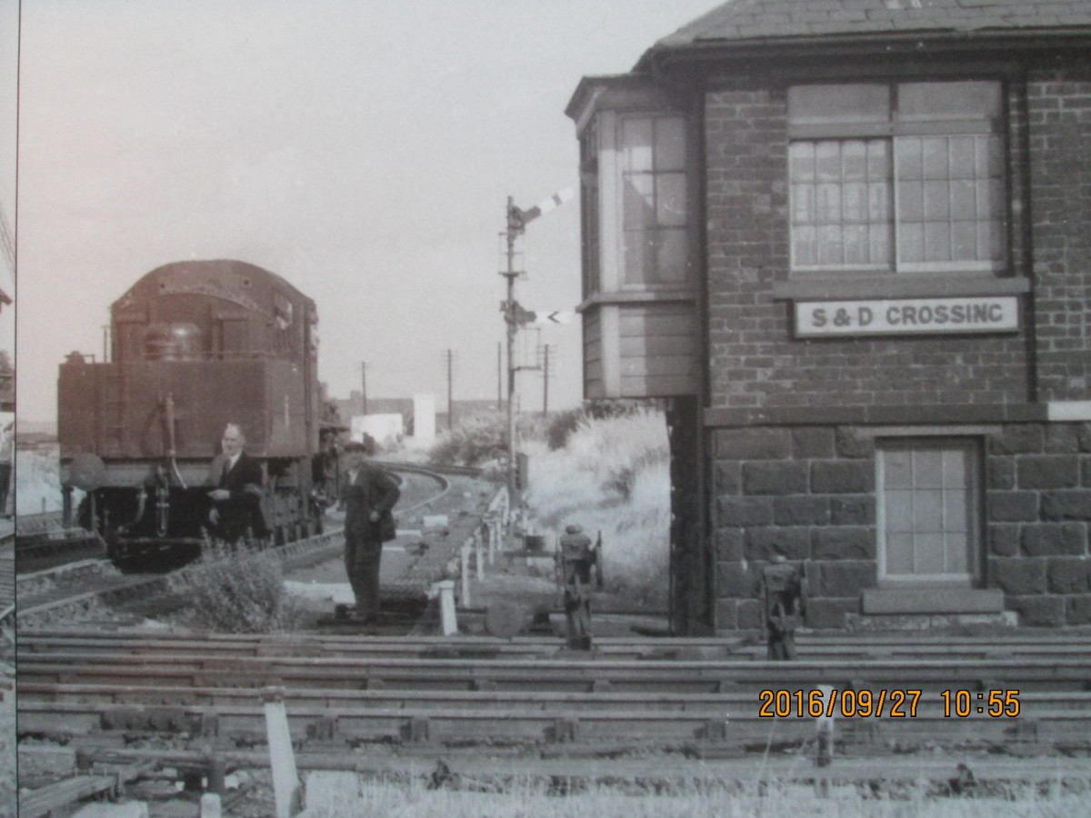 Known locally as 'S&D Crossing', this was where the original Stockton & Darlington Railway passed north of Darlington between North Road and Fighting Cocks on the way south-east to Preston Park (Eaglescliffe) and Stockton-on-Tees