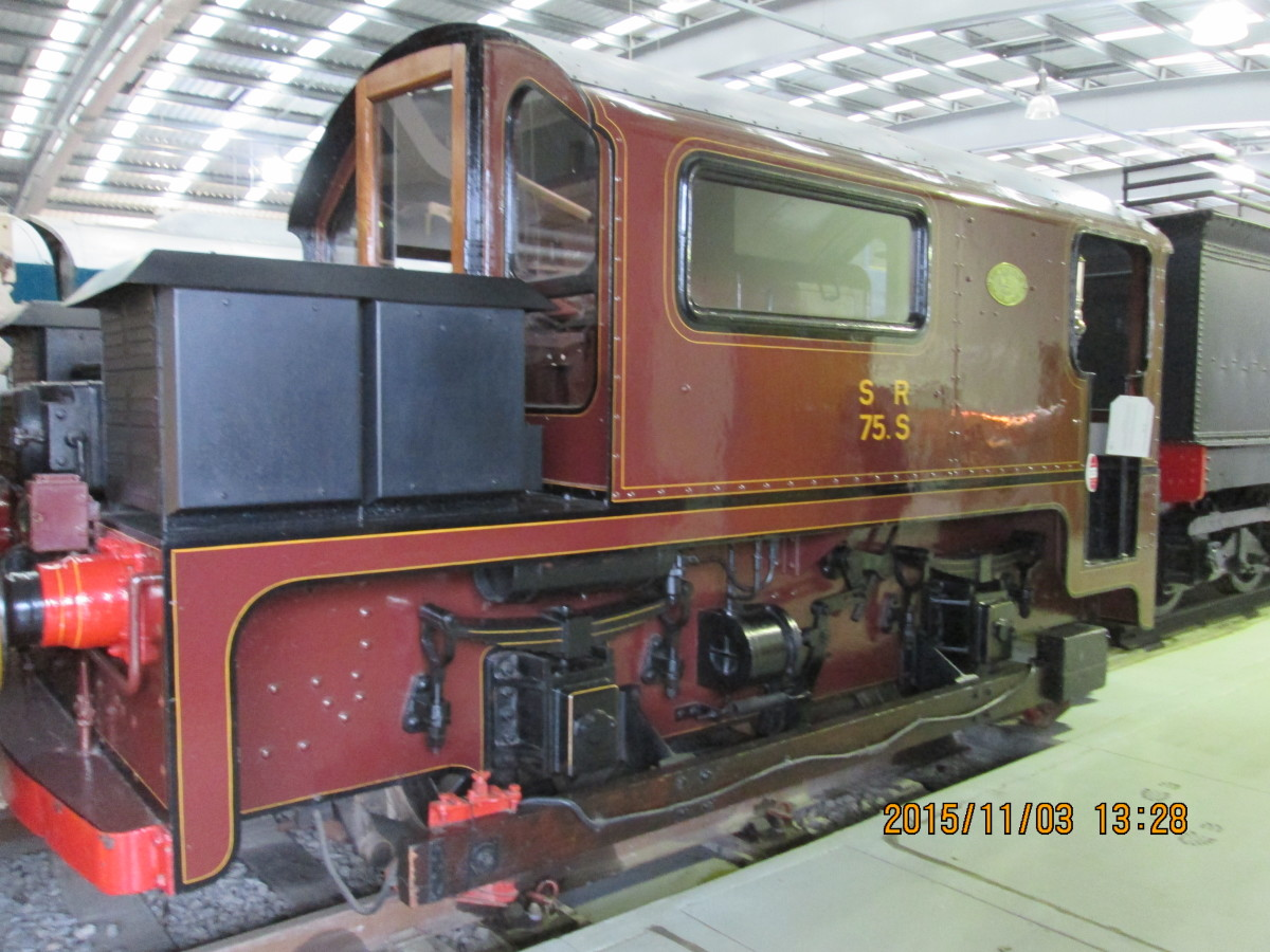 Southern Railway third rail electric shunting locomotive from the Waterloo & City line (now part of London Underground)